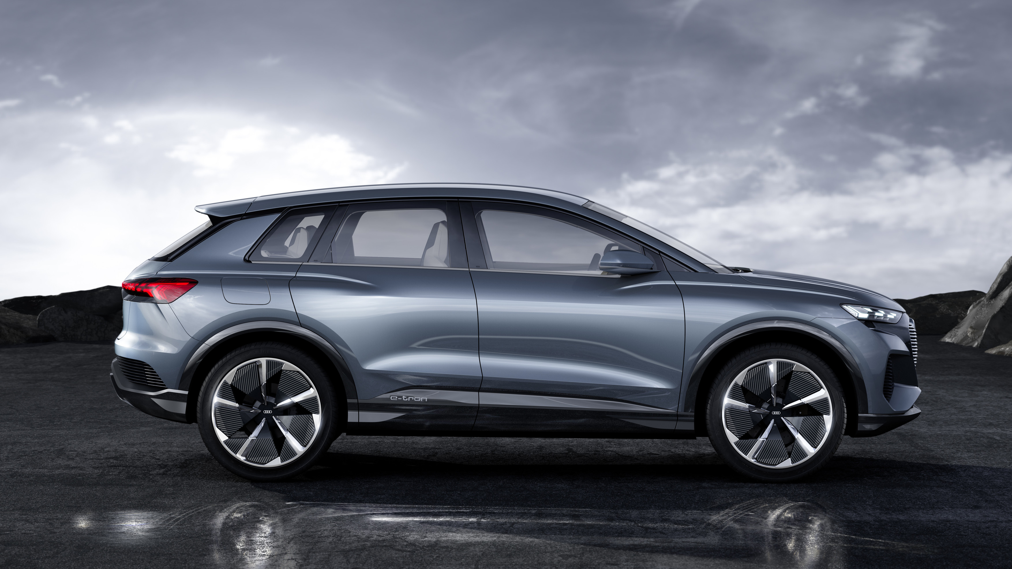 Audi announced the premiere of a new compact electric crossover